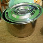 Food container stainless