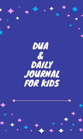 Dua and daily journal for kids