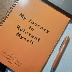 reinvent myself journal